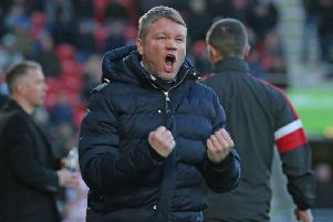 Doncaster's former Posh boss Grant McCann has led his current team back above his old team.