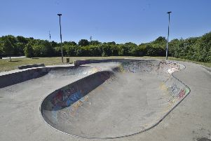 Werrington skate park, where the new leisure facilities could be built EMN-180307-161500009