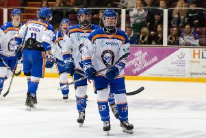 Youngster Jarvis Hunt scored against MK Thunder.