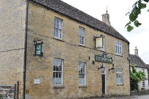 Exeter Arms pub at Helpston