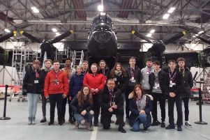 The students at RAF Coningsby