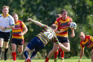 Michael Bean scored a try for Borough.