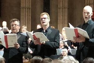 Angmering Chorale Spring Concert: three soloists