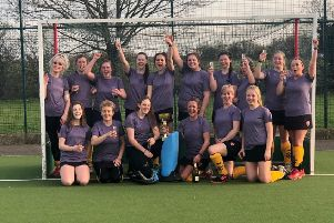 The Bourne Deeping Ladies second team that enjoyed an unbeaten East League season.