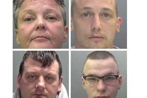 Some of the criminals jailed