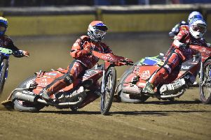 Rohan Tungate in action for Panthers against Belle Vue on Monday.