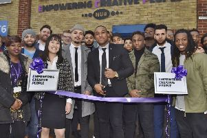 Official opening of the Empowering Creative People Hub by Tiago Varela at Allia Business Centre, London Road, Peterborough. EMN-190803-173616009