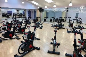 The new bikes in the Manor Leisure Centre in Whittlesey