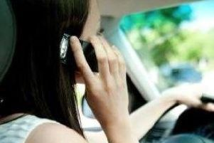Using a phone while driving is ALWAYS a potentially deadly distraction