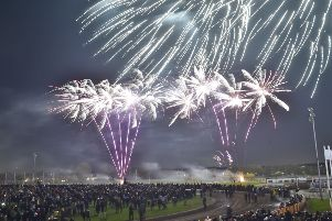 Firework Fiesta 2018 at Peterborough Arena. EMN-180311-234018009