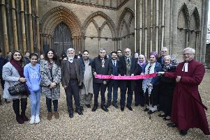 A Christchurch vigil at Peterborough Cathedral