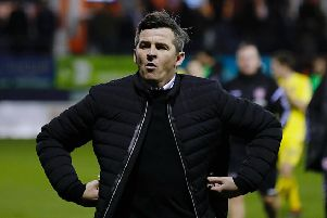 Fleetwood manager Joey Barton.