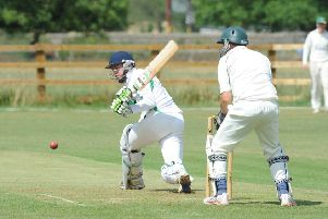 Castor skipper Reece Smith in action.