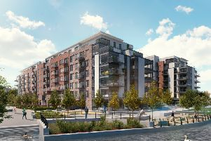 An artist's impression of Fletton Quays