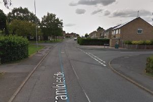 The assault happened in Brambleside near to the junction with Carriage Drive.