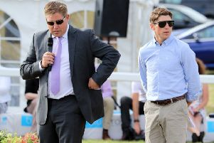 Trainer Dan (left), pictured with brother Harry, spent nine years as assistant to Paul Nicholls before striking out on his own in 2013 EMN-190422-131450002
