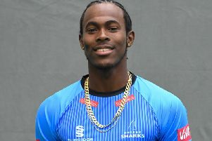 Jofra Archer is set for his England bow / Picture by PW Sporting Photography