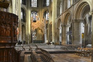 Photographic workshops at Peterborough Cathedral