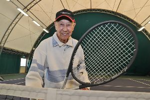 Swee Peck Lai at Bretton Gate ahead of his final match