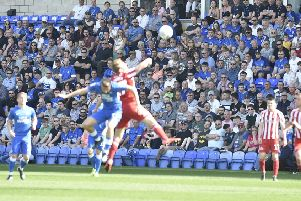 Posh v Sunderland on Easter Monday attracted the biggest League One gate of the season to the ABAX Stadium in 2018-19 ass 11,277 watched the 1-1 draw.
