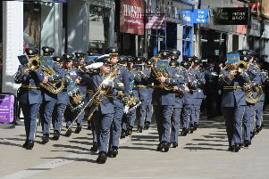 The parade in the city centre