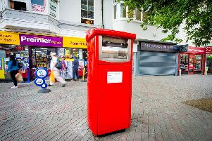 Peterborough has been chosen as one of the first places to receive a parcel postbox
