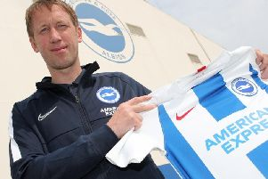 New Brighton & Hove Albion manager Graham Potter'Picture by: Paul Hazlewood Brighton and Hove Albion'www.brightonandhovealbion.com
