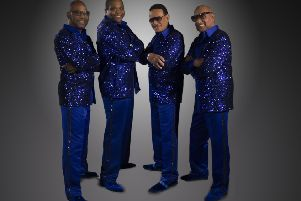 The Four Tops who are coming to Peterborough