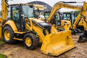 Some of the machinery on show at Plantworx.