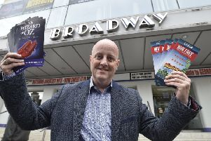 Richie Ross, the new director of the Peterborough New Theatre. EMN-190406-163123009
