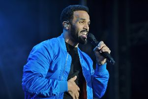 Craig David concert at the Weston Homes Stadium, London Road.