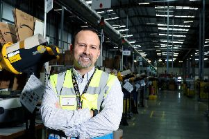 Victor Pulido,Site Leader at Amazon in Peterborough.
