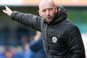 Cliftonville manager Paddy McLaughlin says facing Derry City tonight is a perfect test for his squad ahead of their Europa League tie in Wales.