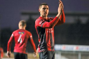 Dan Holman has left Kettering Town to sign for Brackley Town