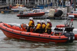 The lifeboat crew