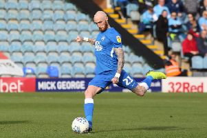 Marcus Maddison wore the number 21 shirt for Posh last season,