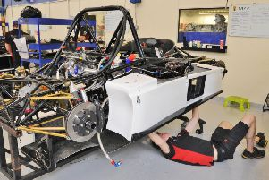 Sports car production at Radical in Peterborough.
