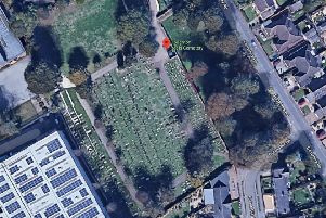 Houghton Regis Cemetery. Photo from Google Maps