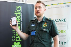 Anthony Brett, safety and risk lead at EEAST with the GoodSAM App