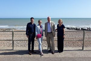 Huw Merriman MP, Lilian Greenwood MP, Daniel Zeichner MP and Ruth Cadbury MP visited Bexhill