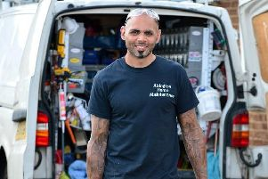 Screwfix in Sleaford is looking for Britain's Top Tradesperson. 2018 winner was carpenter, Stuart Roache from Northampton. EMN-190907-172225001