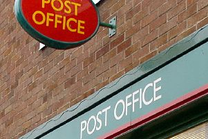 A Post Office ATM was targeted