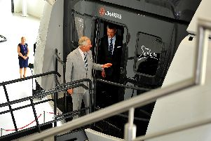 HRH Prince Charles was given a warm welcome when he visited L3Harris London Training Centre in Gatwick Road, Crawley, one of the largest aerospace and defence companies in the world