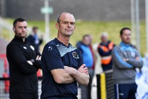 Institute manager John Quigg was delighted with their win over Newry City.