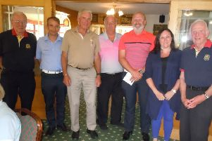 Market Rasen Rotary Club charity golf day EMN-190807-223906001