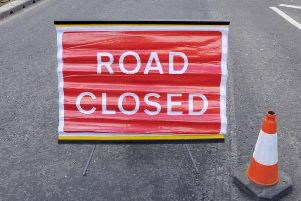 The road will be closed overnight