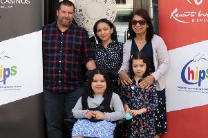 Leah Weller with her family