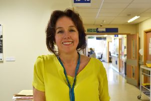 Western Sussex Hospitals chief executive Marianne Griffiths