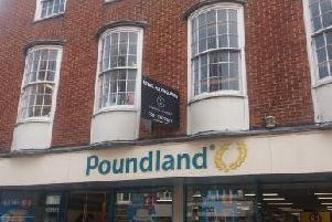 Poundland's former store in East Street, Chichester