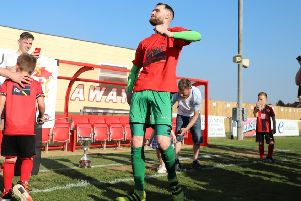 Poppies goalkeeper Paul White celebrated Kettering Town's Southern League Premier Division Central in his unique style and now he is looking forward to making the step up to the Vanarama National League North